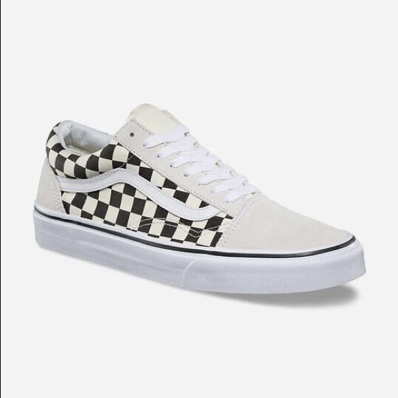 Vans Checkerboard Old Skool Cream And